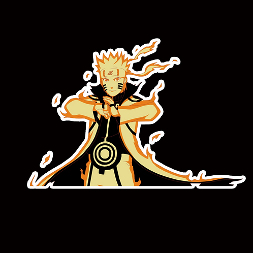 NOR149 Naruto uzumaki Naruto Peeking anime sticker Car Decal Vinyl Window