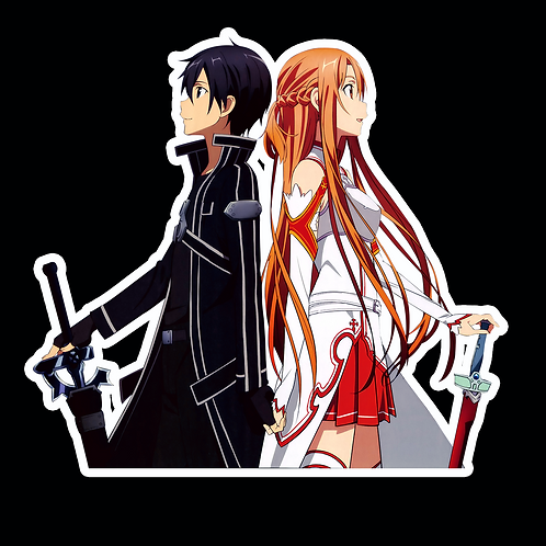 Anime Sticker Car Bumper Truck Window Helmet Decal SSAO32 Sword Art Online