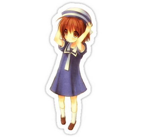SRBB0639 Ushio Clannad anime sticker