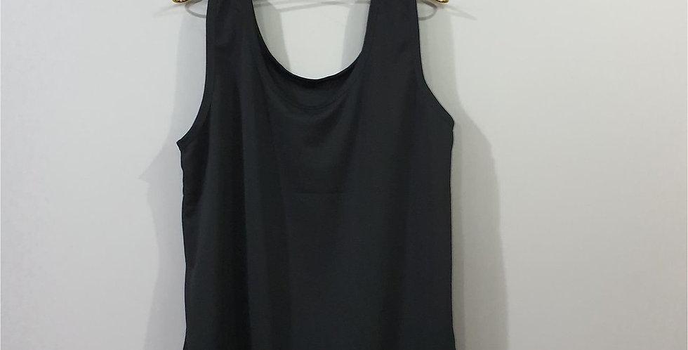 Classic Black Camis Pinup Inner shirt Blouse Camisole Tank Top Women Men NSBL02