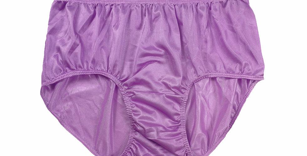 JR06 Pink Half Briefs Nylon Panties Women Men Knickers