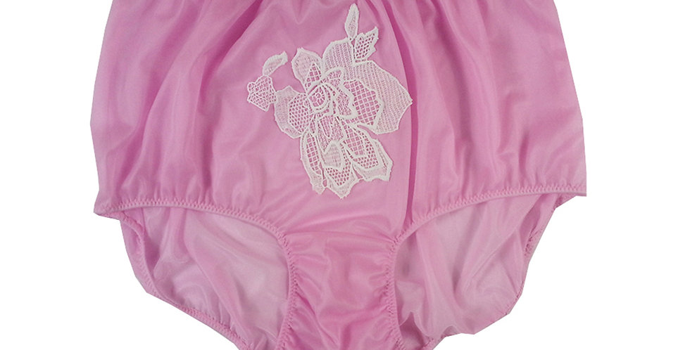 New Fair Pink Sewing pad Nylon Panty Briefs Lingerie Men Handmade Lacy NNH13L07