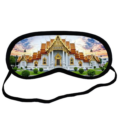 EYM1985 Thailand town Eye Printed Sleeping Mask