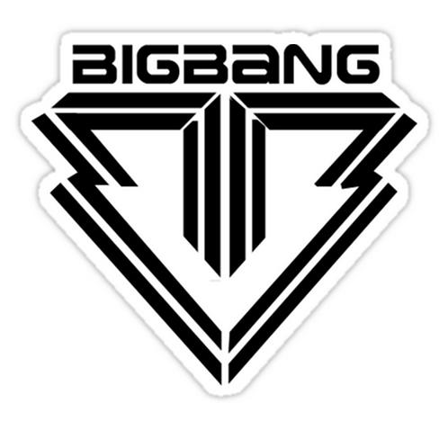 bigbang SSTK038 K-Pop Music Brand Car Window Decal Sticker