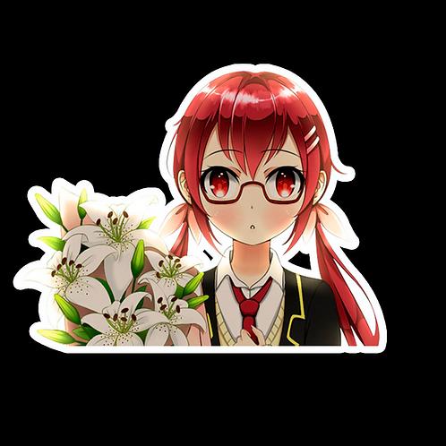 Peek Anime Peeking Sticker Car Decal AKS3 Akane Sakurada Castle Town Dandelion