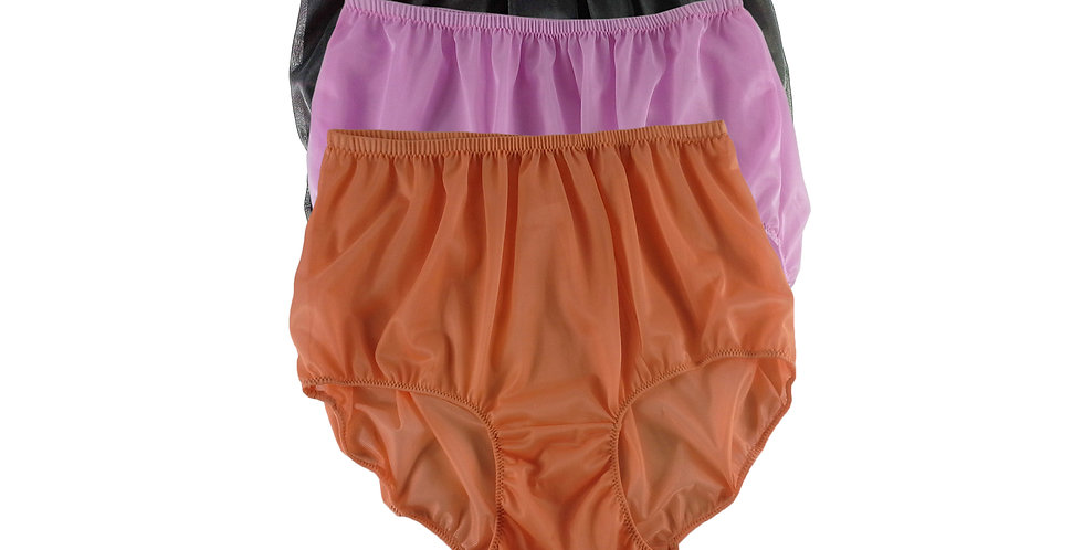A99 Lots 3 pcs Wholesale Women New Panties Granny Briefs Nylon Knickers