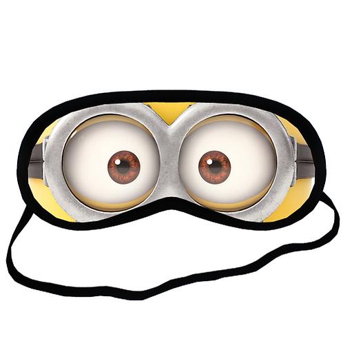 EYM052 minion Eye Printed Sleeping Mask
