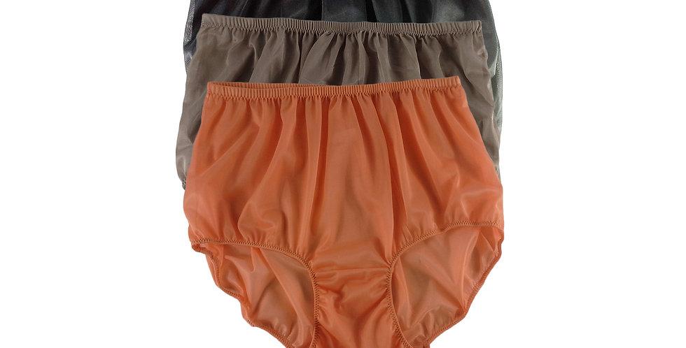 A104 Lots 3 pcs Wholesale Women New Panties Granny Briefs Nylon Knickers