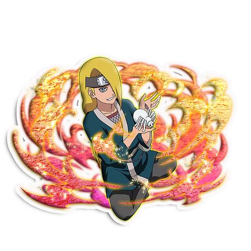 NRT42 Deidara Iwagakure Akatsuki Naruto anime stick