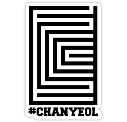 EXO Chanyeol 'Overdose' Logo SSTK090 K-Pop Music Brand Car Window Decal Sticker