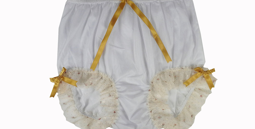 NNH11D53 Handmade Panties Lace Women Men Briefs Nylon Knickers