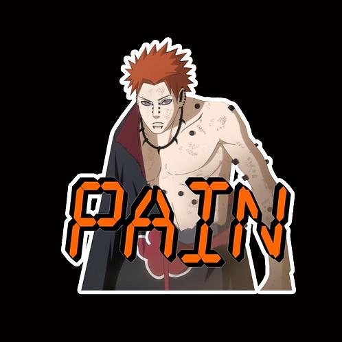 NOR266 Pain Yahiko Naruto Peeking anime sticker Car Decal Vinyl Window
