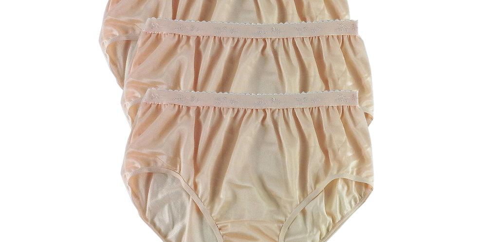 CKT Orange Lots 3 pcs Wholesale New Nylon Panties Women Undies Brief