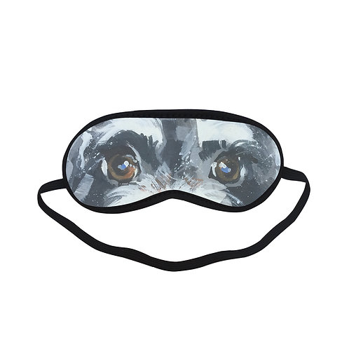 ATEM181 Dog Art Eye Printed Sleeping Mask