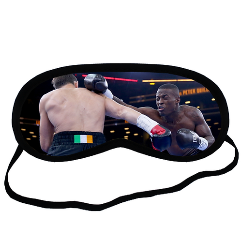 EYM1905 Boxer Fighting3 Eye Printed Sleeping Mask