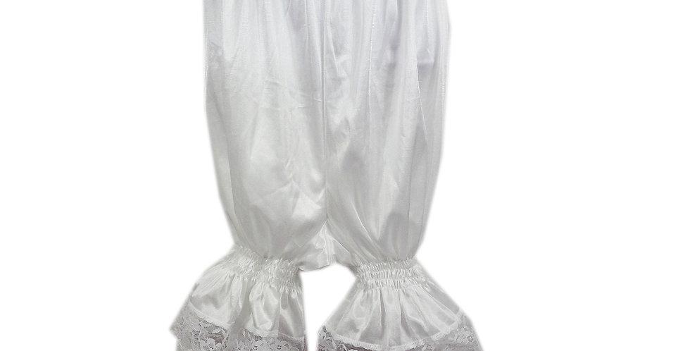 PTPH03P12 White New Nylon Pettipants Women Men Slips Lace Lingerie