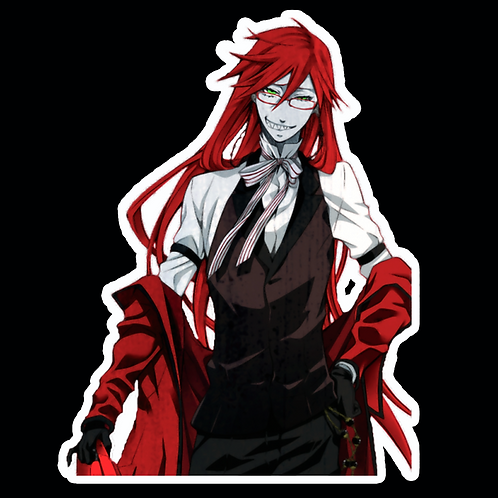 Anime Stickers Die-cut Car motorcycle laptops phone Truck wall BB24 Black Butler