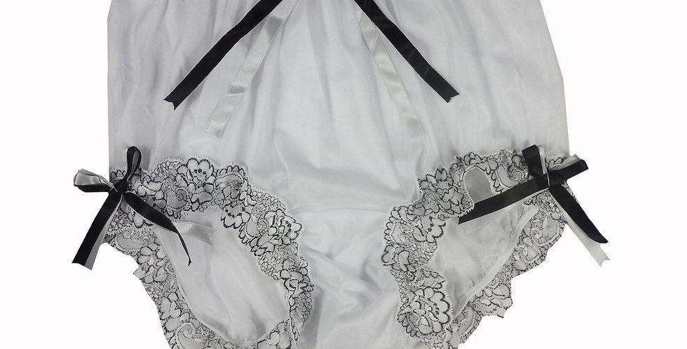 NNH11D130 Handmade Panties Lace Women Men Briefs Nylon Knickers