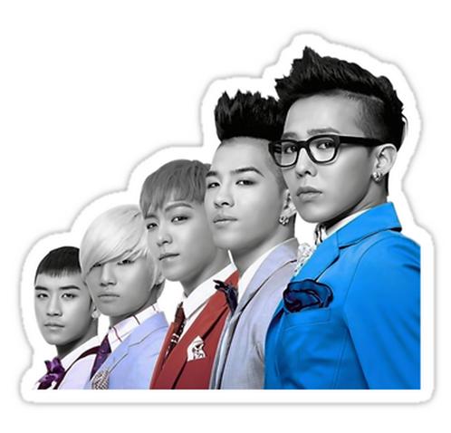 Big Bang SSTK037 K-Pop Music Brand Car Window Decal Sticker