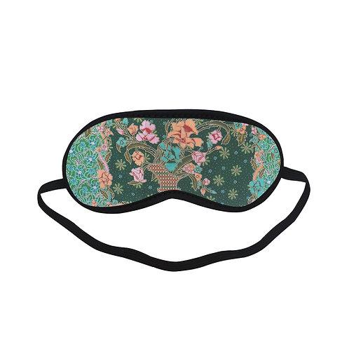 PTEM384B Fractal abstract floral design Eye Printed Sleeping Mas