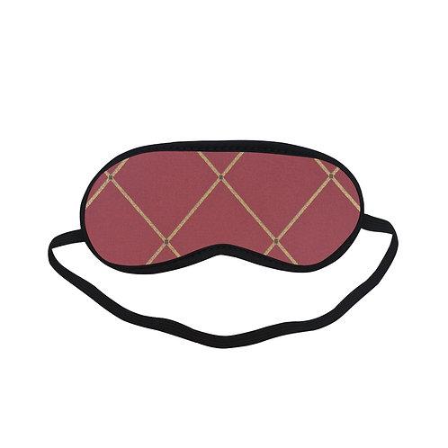 PTEM503 Royal Tartan  Eye Printed Sleeping Mas