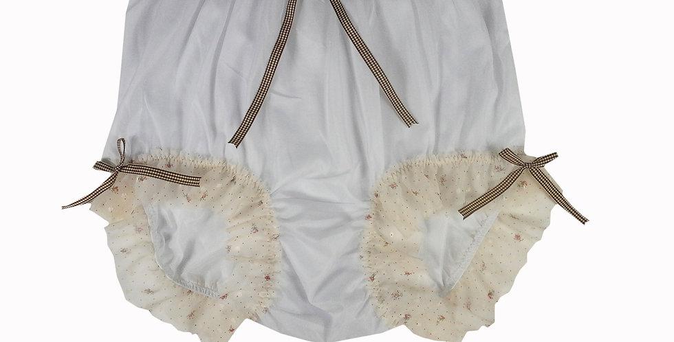 NNH11D51 Handmade Panties Lace Women Men Briefs Nylon Knickers