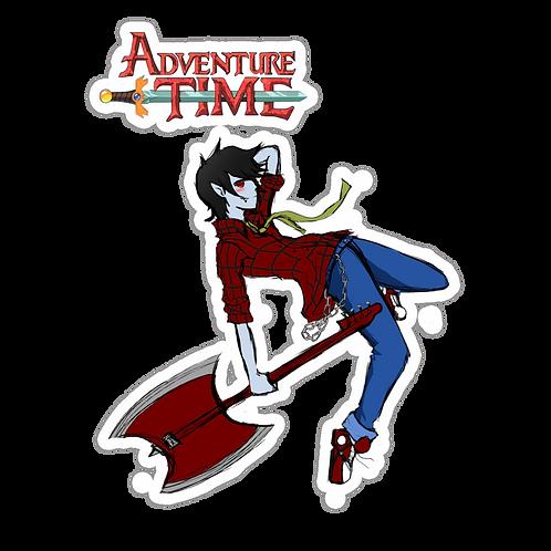SRAA129 Adventure Time Anime Sticker Bumper Car Window Decals