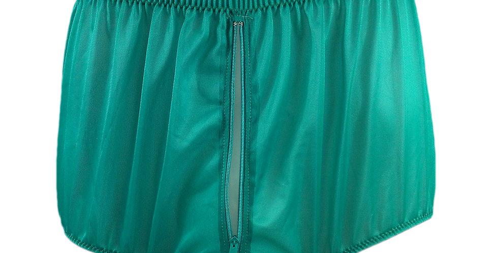 NNH03P01 green Handmade Panties Lace Women Men Briefs Nylon Knickers