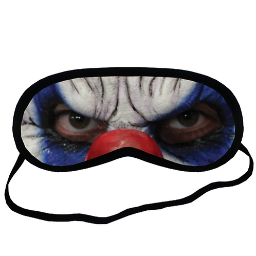 EYM1290 Clooney Clown Eye Printed Sleeping Mask