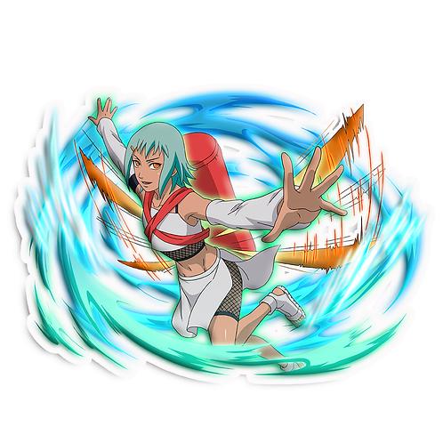 NRT49 Fu Jinchuriki of the Seven Tailed Chomei  Naruto anime stick