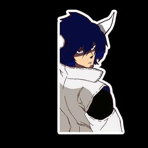 Peek Anime Peeking Sticker Car Window Helmet Laptop Decal PGK11 Akame ga Kill!