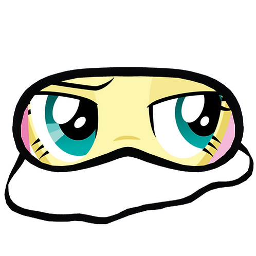 EYM072 My Little Pony Fluttershy Eye Printed Sleeping Mask
