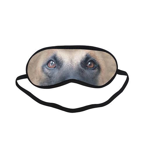 ATEM076 belgian malinois dog Eye Printed Sleeping Mask