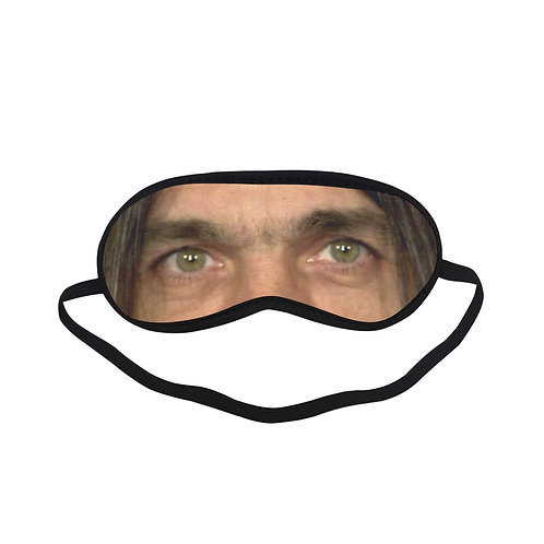 SP06 Malcolm Young ACDC Eye Printed Sleeping Mask