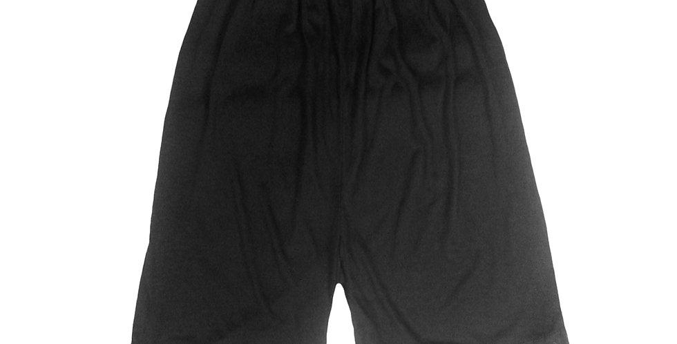 PCP01 black Cotton Pettipants Women Slips Lace Lingerie Underwear