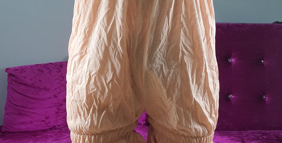 copy of Sissy New Brown Cotton Slips Pettipants Lingerie Sleepwear Handmade Men