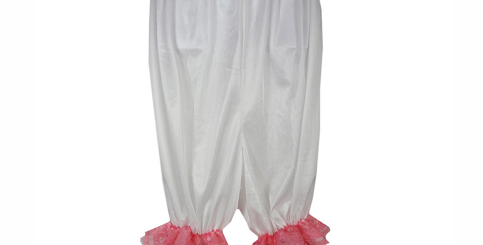 PTPH04D16 white New Nylon Pettipants Women Men Slips Lace Lingerie