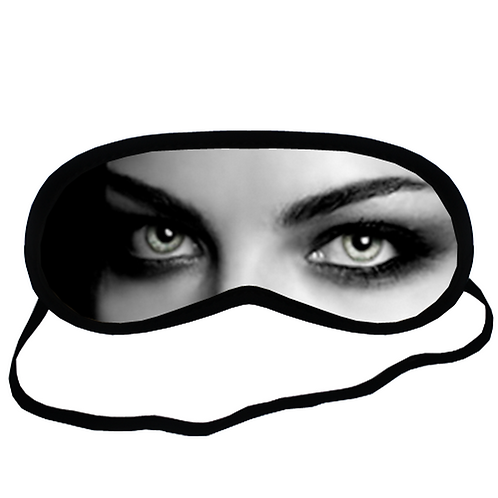 EYMt1655 Dearg Due Female Vampire Eye Printed Sleeping Mask