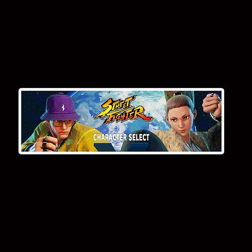 Slap Stickers Anime Stickers Decals Helmet laptops SLSF30 Street Fighter Game