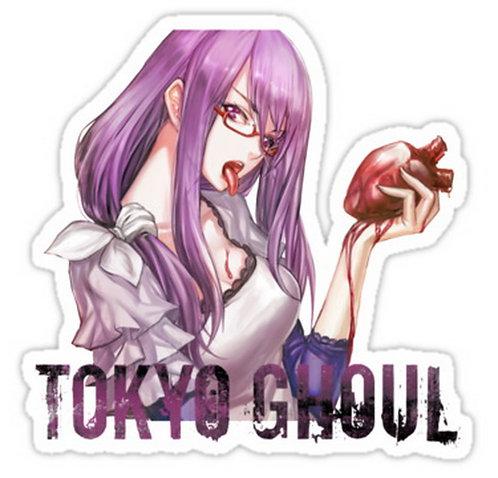 SRBB0663 TOKYO GHOUL - Rize anime sticker