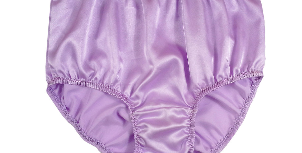 STP06 Fair Purple New Satin Panties Women Men Briefs Knickers