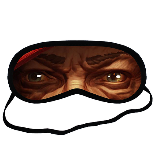EYM318 Hand of Fate Eye Printed Sleeping Mask