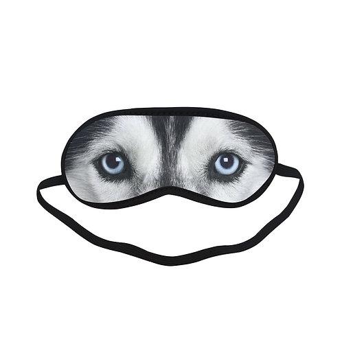 SPM166 siberian dog Eye Printed Sleeping Mask