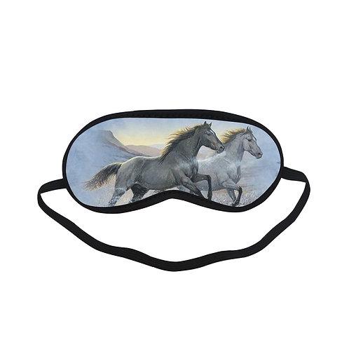ATEM274 horses runing Eye Printed Sleeping Mask