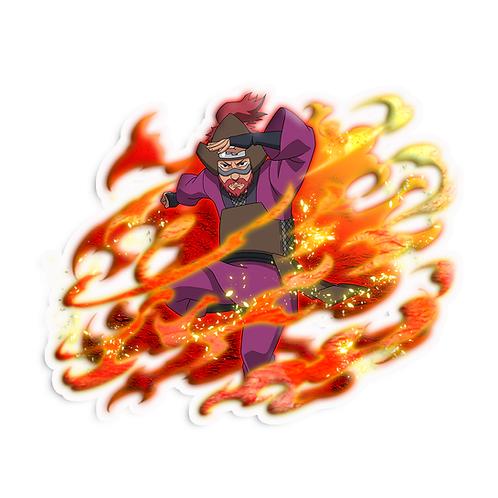 NRT329 Roshi Jinchuriki of the Four Tailed Son Goku  Naruto anime s