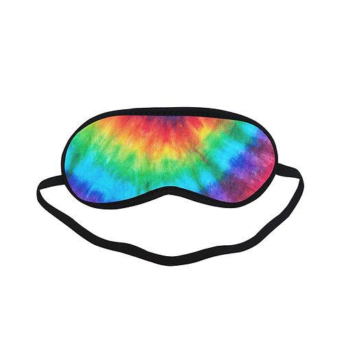 PTEM407B Colorful Trippy Eye Printed Sleeping Mas