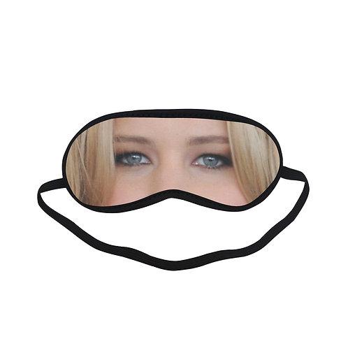 JTEM234 Jennifer Lawrence Eye Printed Sleeping Mask