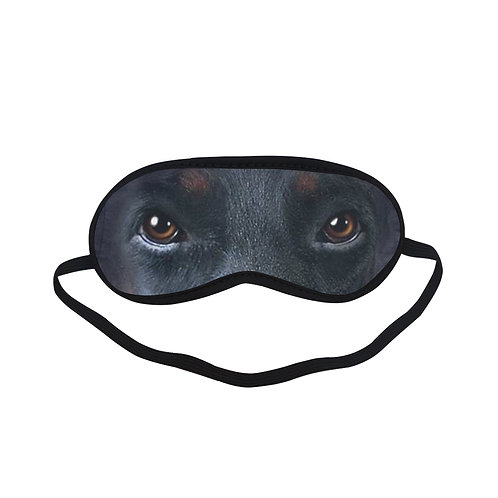 ATEM180 Doberman Dog Eye Printed Sleeping Mask