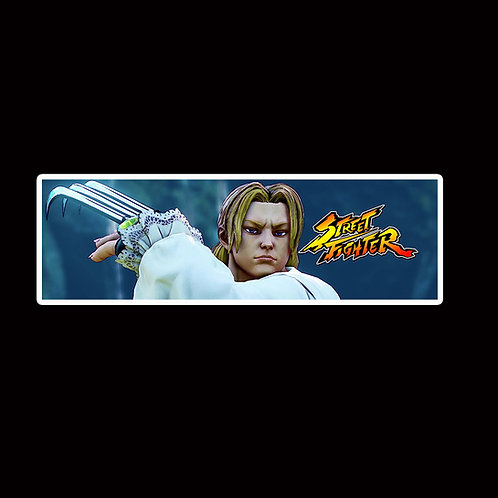 Slap Stickers Anime Stickers Decals Helmet laptops SLSF38 Street Fighter Game