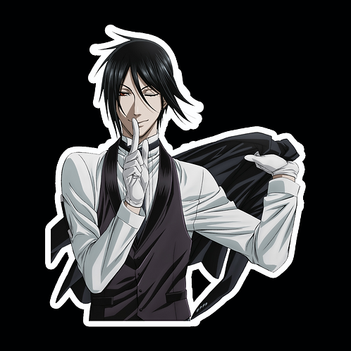 Anime Stickers Die-cut Car motorcycle laptops phone Truck wall BB20 Black Butler
